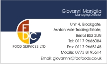 FDC Business Card