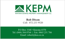KEPM Business Card Design