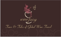 Wine Fairy Business Card